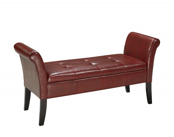 ACCENT BENCH - RED