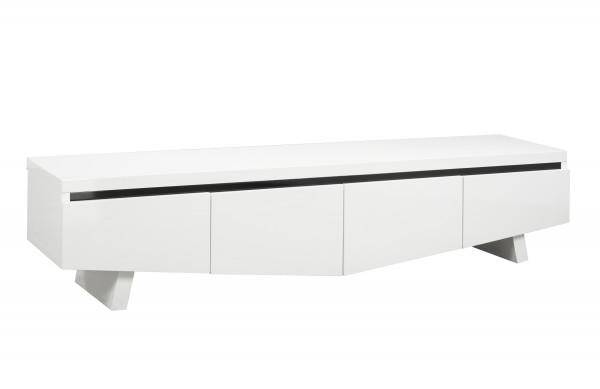 70'' TV STAND - WHITE