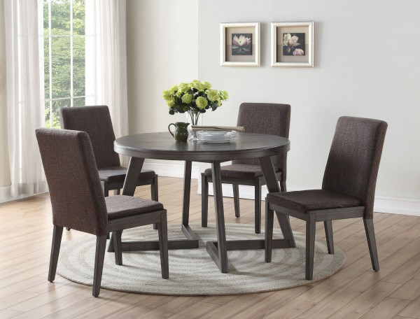 CLEO 5 PC DINING SET ROUND