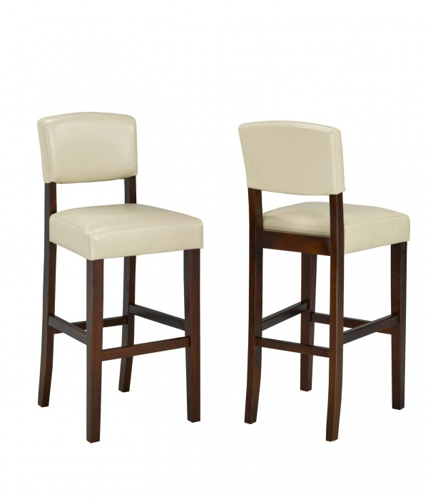 29' BARSTOOL CREAM (BAR STOOL SET OF 2 )
