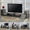MULTI. CONFIG. TV STAND - GREY