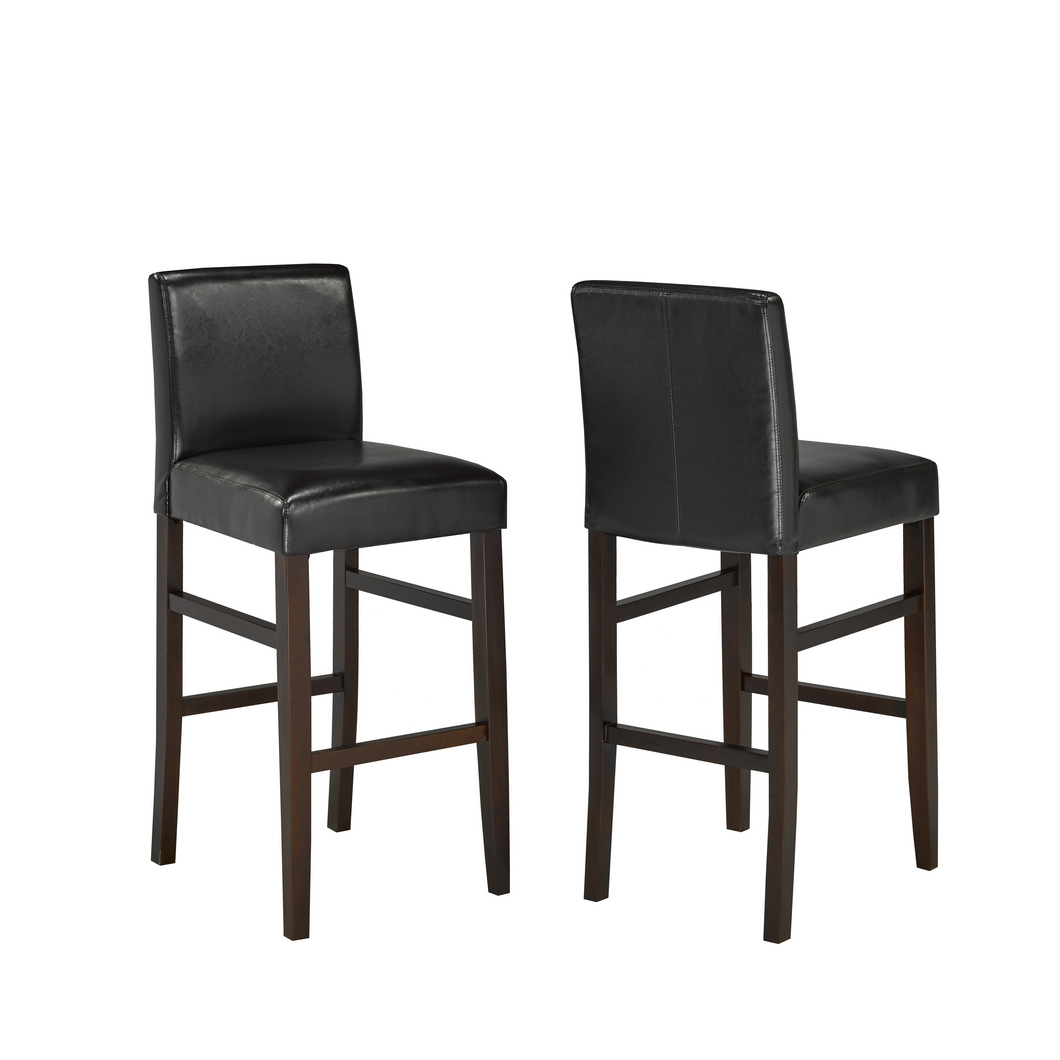 PU BROWN 29' BARSTOOL (BAR STOOL SET OF 2 )